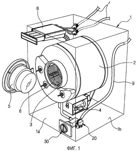 Стиральная машина, имеющая водосливной кожух, и водосливной кожух