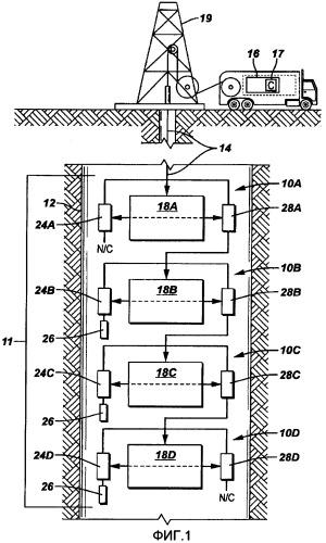 Скважинный инструмент для установки в скважине и способ для активации скважинного инструмента для использования в стволе скважины