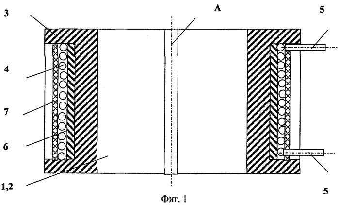 Приемная катушка телеметрической системы, передающей информацию магнитным потоком по колонне труб