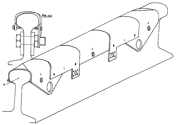 Весы вагонные переносные