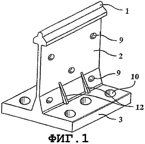 Удлиненный фиксирующий элемент