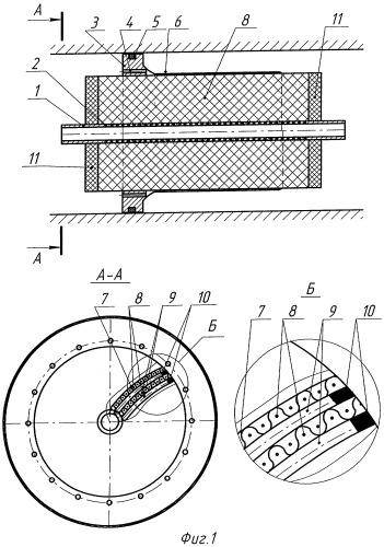 Мембранный фильтрующий элемент рулонного типа