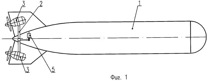 Подводный аппарат повышенной маневренности
