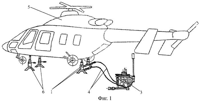 Устройство для подъема летательного аппарата