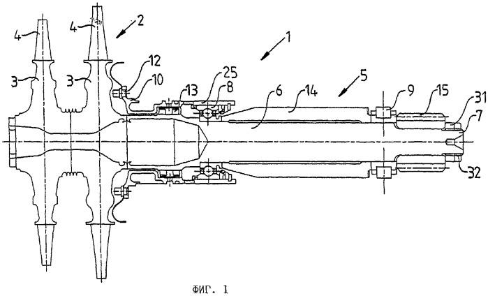 Турбомашина, представляющая собой турбину или компрессор, и способ ее сборки