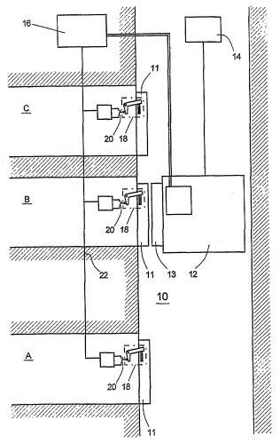 Защитный контур для дверей лифта