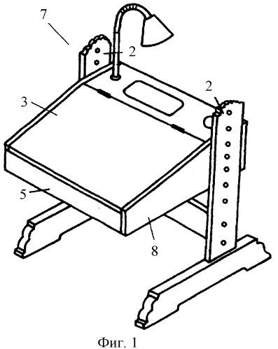 Комплект функциональной ортопедической ученической мебели