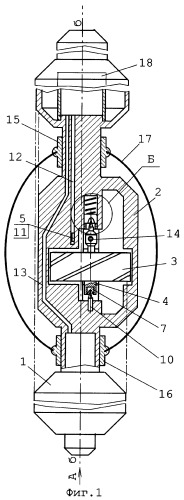 Скважинный турбинный расходомер
