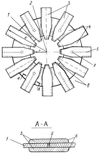 Конвекторное кольцо для отжига в колпаковой печи стальных холоднокатаных полос в рулонах