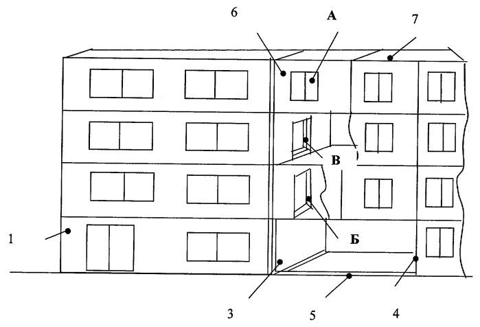 Способ застройки между торцами зданий