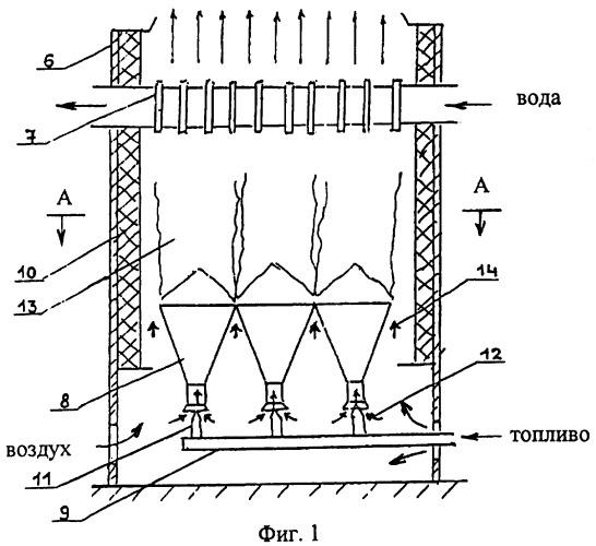 Инжекторная газовая горелка и котел с инжекторными газовыми горелками