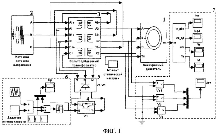 Плавный пуск для асинхронного двигателя