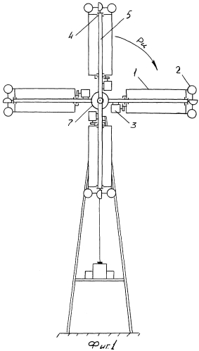 Роторно-ветровая энергоустановка