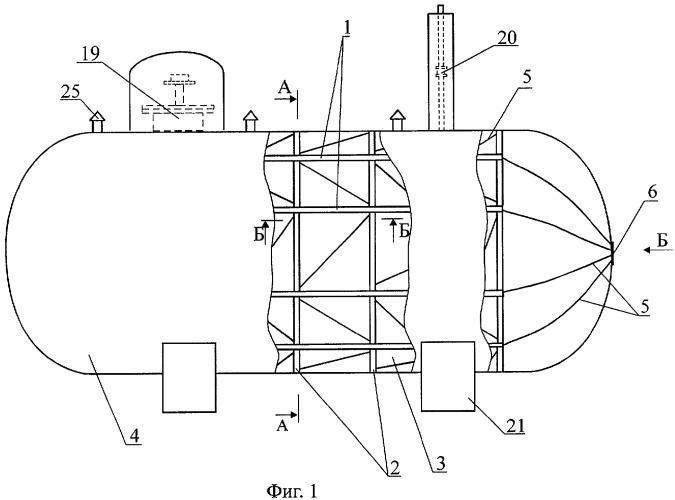 Разборная защитная конструкция и способ хранения резервуаров с огнеопасными веществами