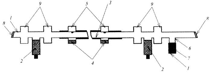 Способ поддержания и регулирования концентрации галогеноводорода в газоразрядной трубке лазера и газоразрядная трубка лазера на парах галогенидов металлов