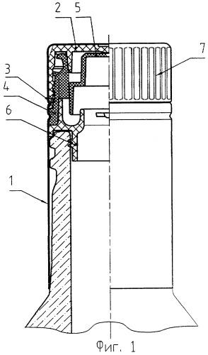 Комбинация предохранительной крышки и контейнера