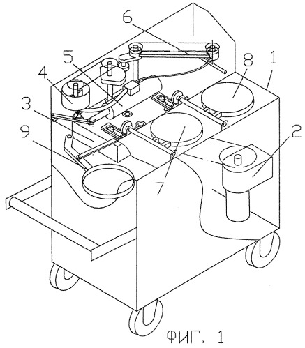Устройство для изготовления штучных печеных изделий
