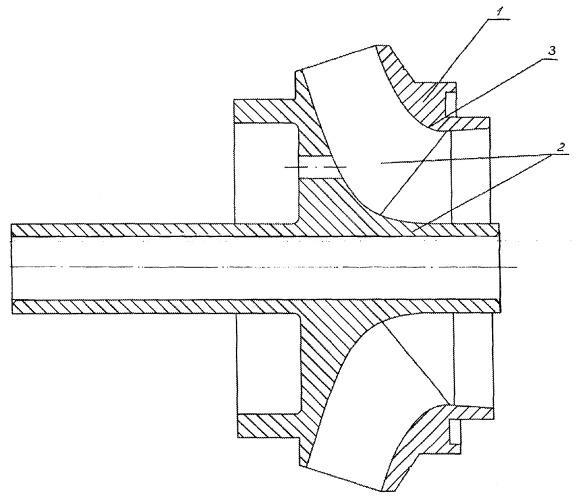Способ изготовления детали центробежного насоса