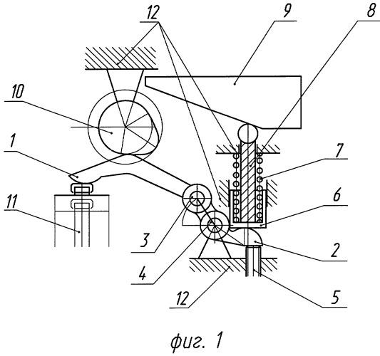 Механизм газораспределения двигателя внутреннего сгорания