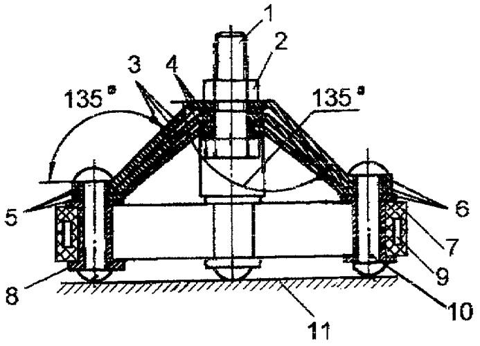 Способ виброизоляции и виброизолятор с квазинулевой жесткостью