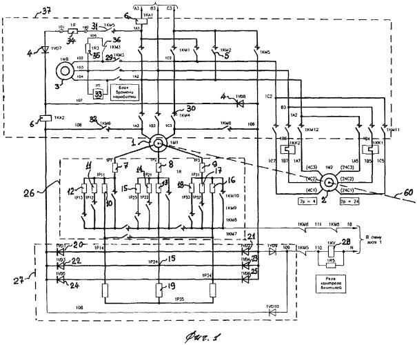 Электропривод механизма