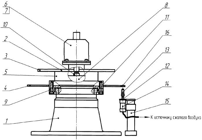 Устройство для позиционирования поворотного стола