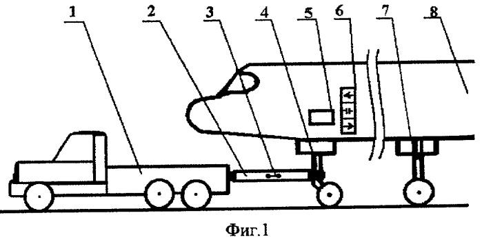 Транспортировочное устройство самолетов
