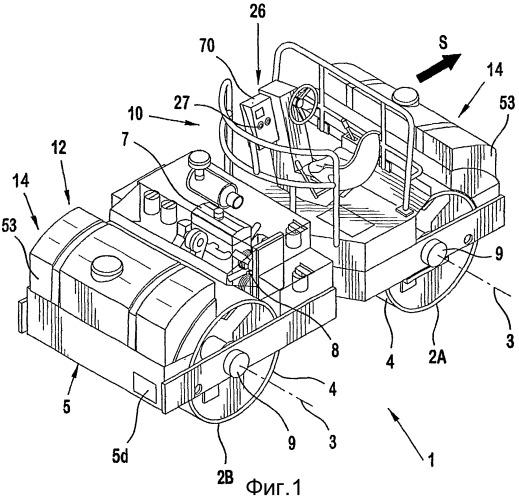 Контроллер для смачивающей системы уплотняющего транспортного средства