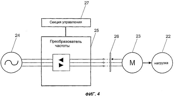 Система и способ стопорения электродвигателя пропульсивной установки
