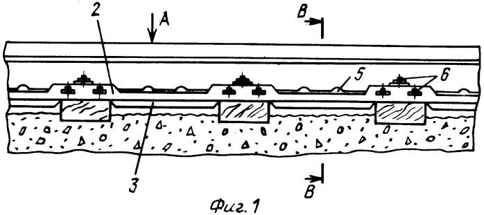 Подкладочное устройство для железнодорожных и трамвайных путей