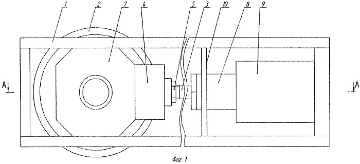 Натяжное устройство для тягового органа конвейера