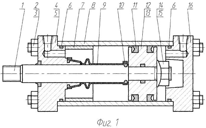 Уплотнение гидро- или пневматического цилиндра