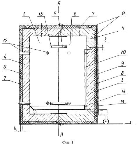 Способ изготовления реактора утилизатора и опалубка для изготовления разъемного реактора