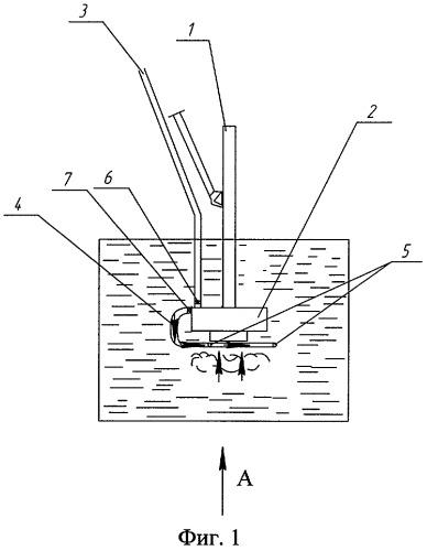 Перемешивающее устройство к погрузчику полужидкого навоза