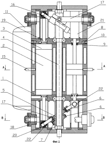 Аксиально-поршневой двигатель