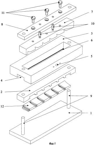 Способ электрохимической размерной обработки турбинных лопаток и устройство для его осуществления