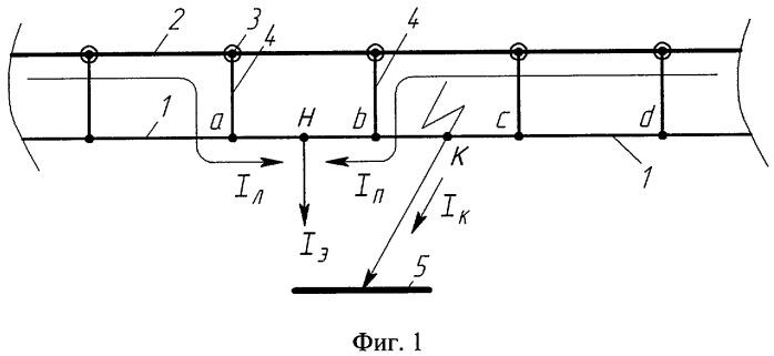 Система тягового электроснабжения постоянного тока (варианты)