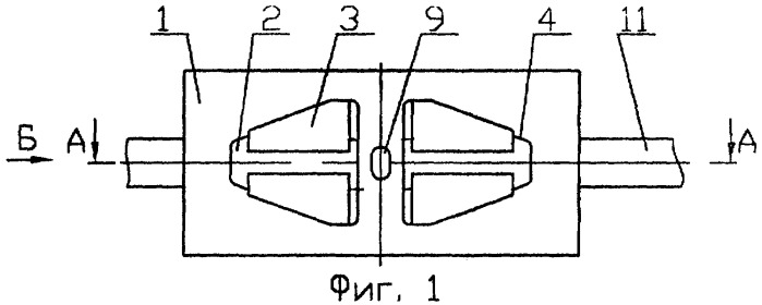 Клинозамочная муфта для соединения арматурных стержней
