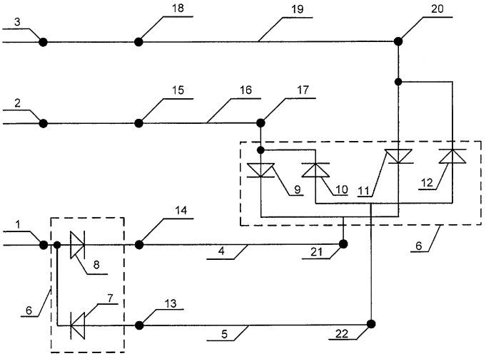 Схема питания железных дорог