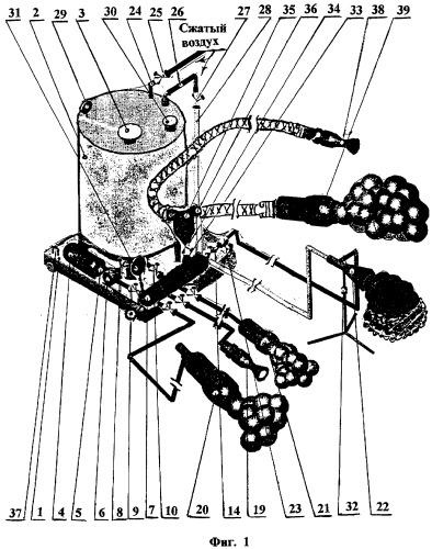 Мобильная пеногенерирующая установка многоцелевого назначения