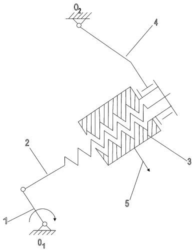 Механизм для воспроизведения пространственных кривых