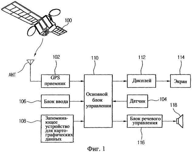 Способ определения местоположения движущегося объекта в навигационной системе