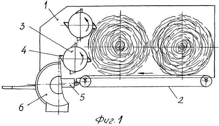 Измельчитель-раздатчик стебельчатых материалов