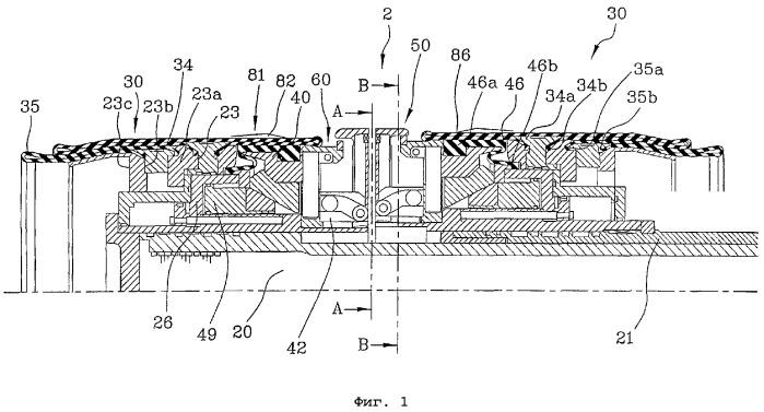 Способ формования каркаса и барабан для изготовления шины для колес транспортных средств