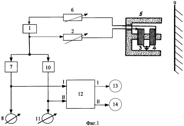 Радиоволновой измеритель вибрации и перемещений