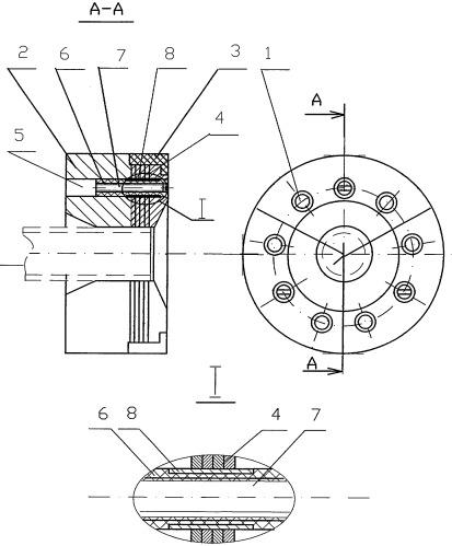 Устройство для формирования соединения при контактной стыковой сварке трубы с заглушкой