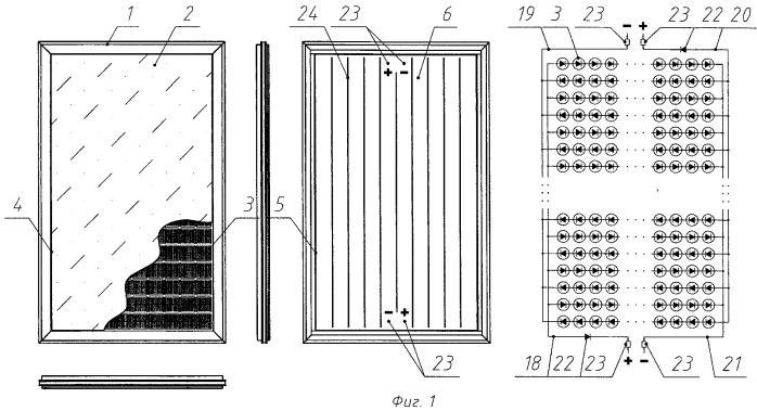 Солнечная батарея как элемент строительной конструкции