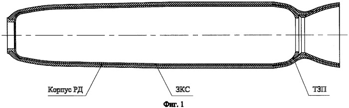 Способ подготовки внутренней поверхности корпуса ракетного двигателя для скрепления с ним твердого ракетного топлива