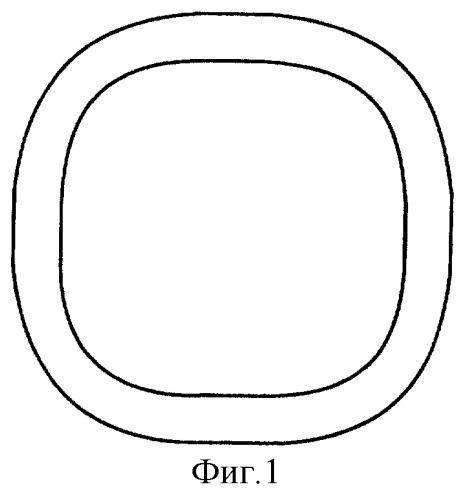 Четырехугольное кольцо с закругленными углами