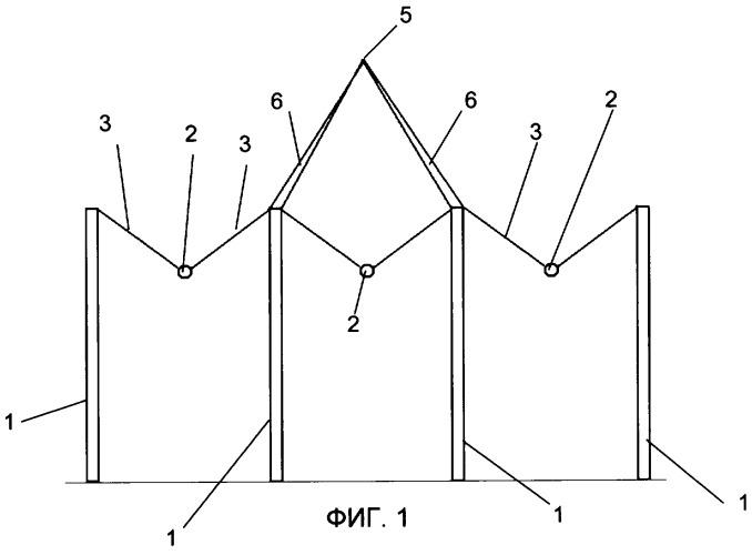 Промежуточная опора для воздушных линий электропередачи сверхвысокого напряжения (варианты)